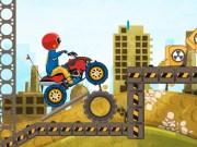 Cursa ATV pe santier cu obstacole