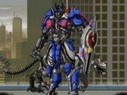 Lupte cu robotul Optimus