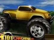 Cursa masini Monster Truck la ferma
