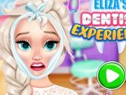 Elsa experienta la dentist