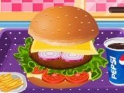 Hamburger american super delicios
