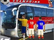 Transport Fotbalişti cu autobuzul