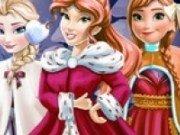 Printesa Elsa, Anna si Belle de Craciun
