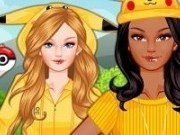 Barbie moda in stil Pokemon