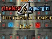 Fata apa si baiatul foc FireBoy și WaterGirl 4