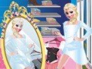 Elsa merge la cumparaturi