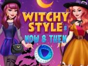 Stil de vrăjitoare in trecut vs prezent