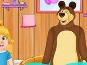 Masha si ursul: O zi la scoala