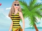 Barbie zi la plaja