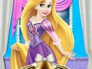 Rapunzel petrecerea de Craciun Disney