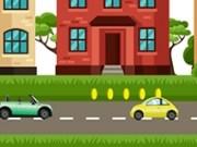 Jump cu masina prin oras