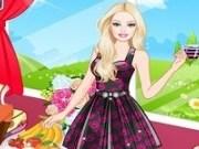Barbie petrecere  cu ceai