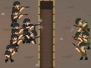 Soldati pe front