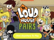 Joc de memorie Lincoln The Loud House Pairs