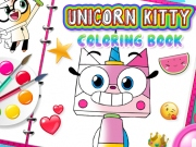 Unkitty Carte de colorat online
