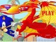Sonic vs Dragonul care sufla foc