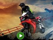 Cascadorii 3D cu motocicleta