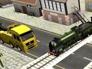 Simulator de trecere la calea ferata 3D