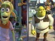Asemanari cu Shrek si Fiona