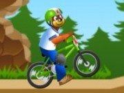 Teddi cu bicicleta