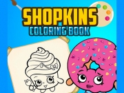 Shopkins Shoppies Carte de colorat online