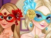 Masca de bal pentru Elsa si Anna