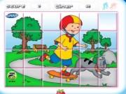 Caillou Puzzle rotativ