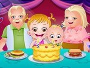 Baby Hazel la Ziua bunicilor