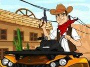 Cursa ATV cu Cowboy