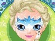 Baby Barbie Frozen desene pe fata