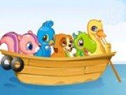 Joc de salvare. Salveaza animalele din vapor