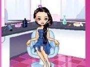 Chazie la salonul de înfrumusețare
