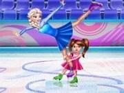 Elsa si Susie Patinaj