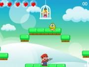 Mario o salveaza pe printesa Peach