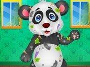 Spala si ingrijeste ursuletul panda