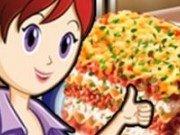 Bucatareasa Sara gateste Lasagna