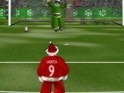 Fotbal cu Mos Craciun