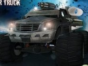 Monster Truck in spatiu