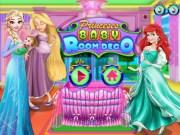 Rapunzel si Ariel Decoare Dormitorului