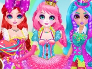 Eliza, Jacqueline și Sirena Ariel rochii unice din bomboane