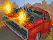 Battle On Road Car 2D
