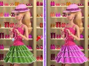 Gaseste 6 Diferente cu Barbie