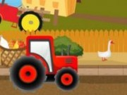 Transporta marfa cu Tractorul fermierului