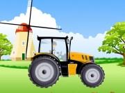 Ben 10 cu Tractorul pe camp