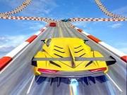 Cascadorii cu masina pe Mega rampe Go Ramp Car Stunts 3D