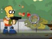Bart Simpson vs monstri zombi