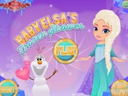 Elsa si Olaf imagini de colorat