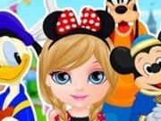 Baby Barbie in vacanta la Disneyland