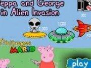 Pepa si George rapiti de extraterestrii