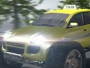Transporta clienti cu masina de Taxi Monster Truck
